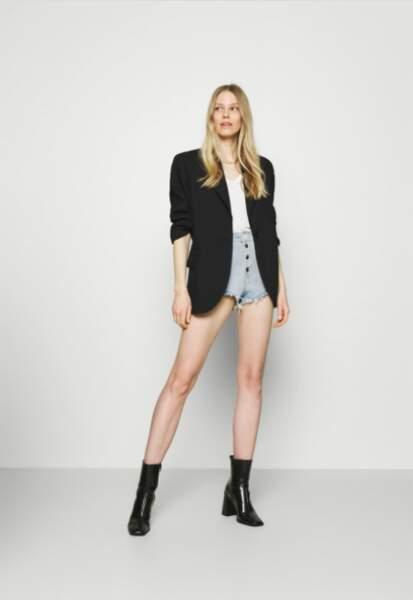 "Short ""Alexia"" en jean - Guess, 70€"