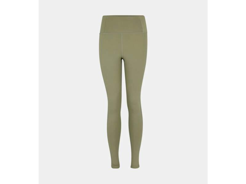 Legging nylon stretch taille haute, 68€, Girlfriend Collective label Go for Good