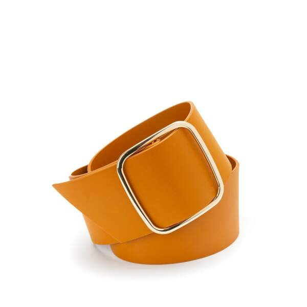 Ceinture large orange, 24,99€, La redoute collections