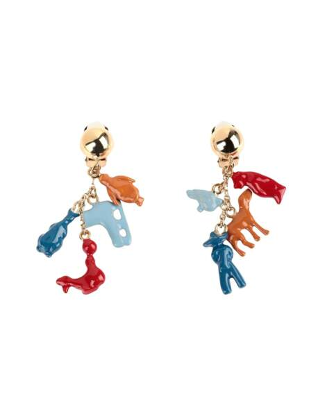 Boucles d'oreilles, 159€, Marni by Yoox