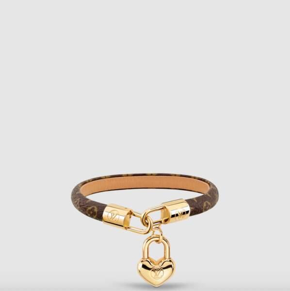 Bracelet Crazy in Lock, 255€, Louis Vuitton