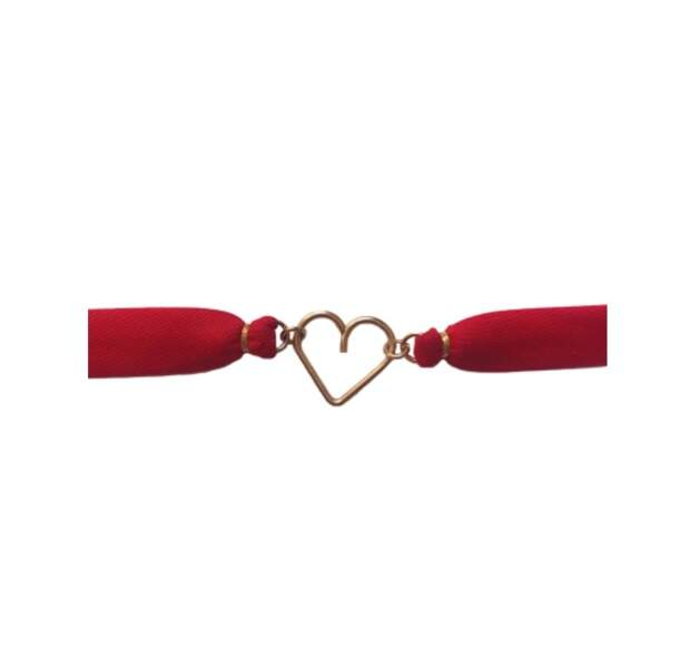 Bracelet coeur, 115€, Atelier Paulin