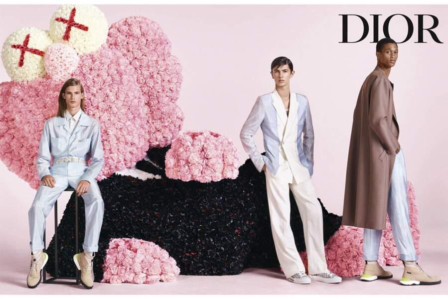 Proche de la maison Dior, dont il illustrait une campagne en octobre 2018,  Nikolai de Danemark a également prêté son physique racé et romantique à la maison Burberry.