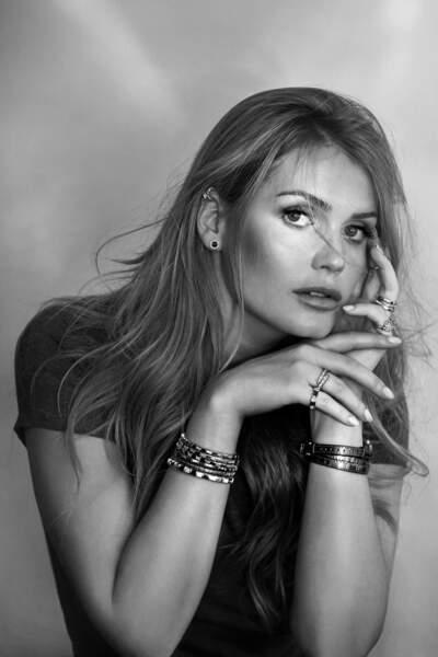 """Choisie par Bulgari pour son attitude """"fearless"""", Kitty Spencer est un mannequin professionnel sous contrat avec l'agence Storm Models."""