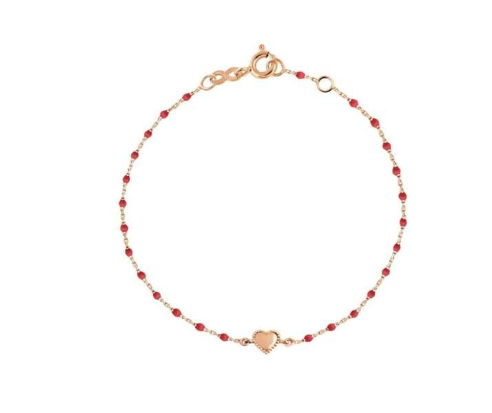 Bracelet coeur, 255€, Gigi Clozeau
