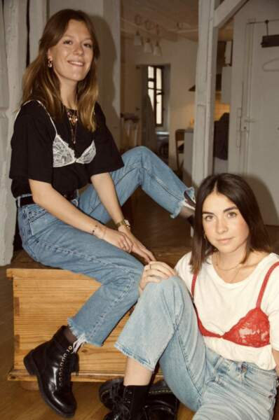 Eugénie et Marjorie, les deux fondatrices de la marque Mood Paris