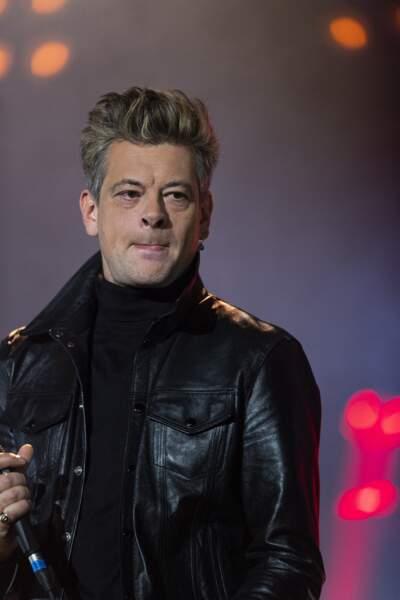 """Benjamin Biolay - 3ème édition de l'émission """"Psychodon, Unis face aux maladies psychiques"""" à l'Olympia à Paris et diffusée sur C8 le 6 octobre 2020"""