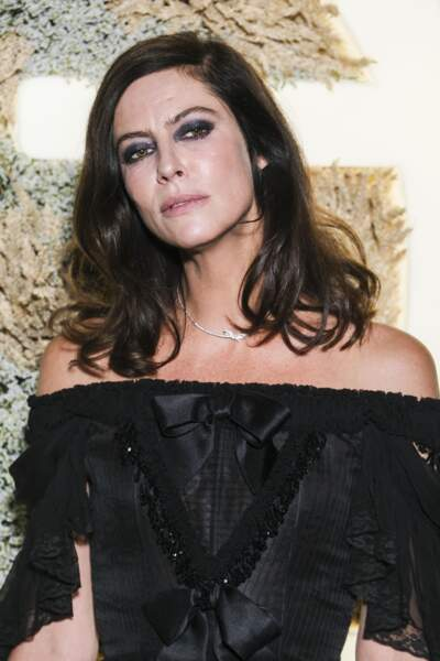 Anna Mouglalis, ex-compagne de Benjamin Biolay, à l'Opéra Garnier, Paris, le 20 septembre 2019