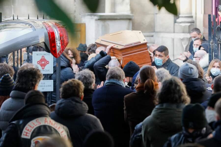 Ce vendredi 12 février, de nombreuses personnalités se sont pressées en l'église Notre Dame de La Croix, pour les obsèques du photographe Richard Aujard.