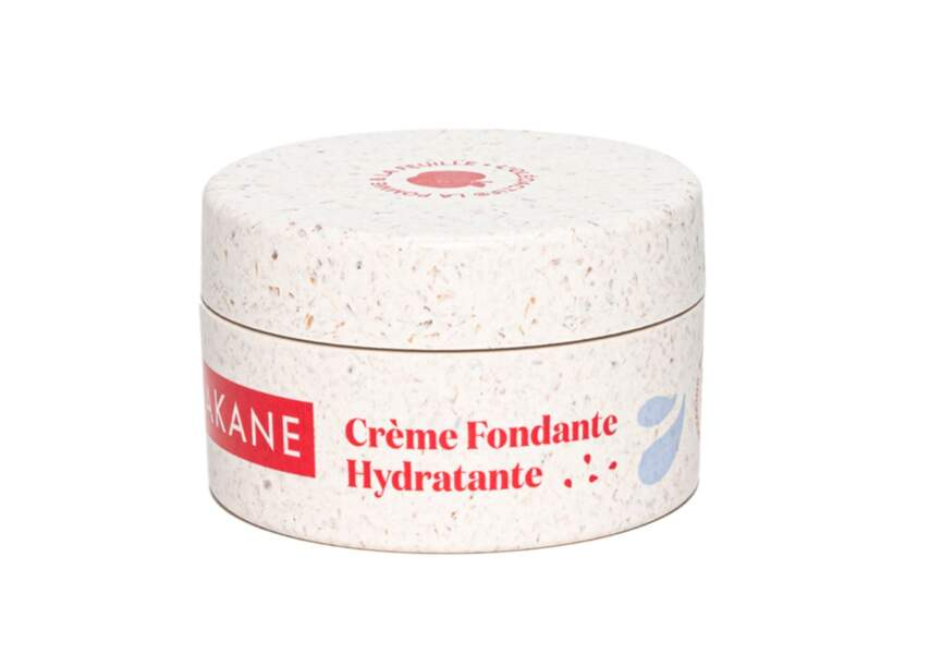 Crème Fondante Hydratante Bio, Akane, 25€