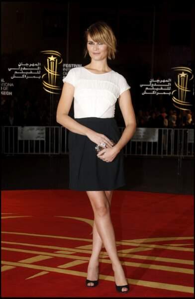 Après Louise Bourgoin, Julien Doré a vécu une idylle avec Marina Hands (ici en décembre 2010, lors du Festival de Marrakech).