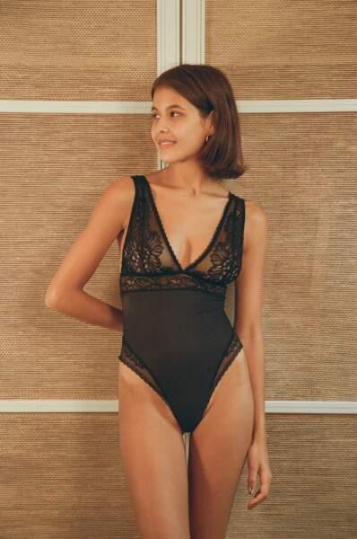 Body Romy noir sur S au L, 120€, Nénés Paris