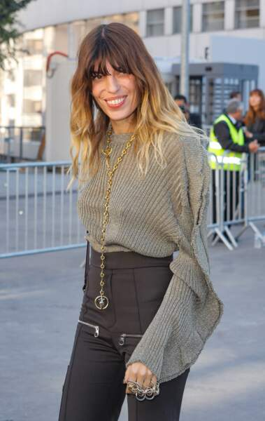 Lou Doillon à Paris le 27 septembre 2018