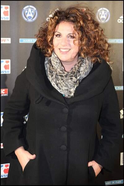 Marianne James, ici en novembre 2011 à la Halle Carpentier, à Paris.