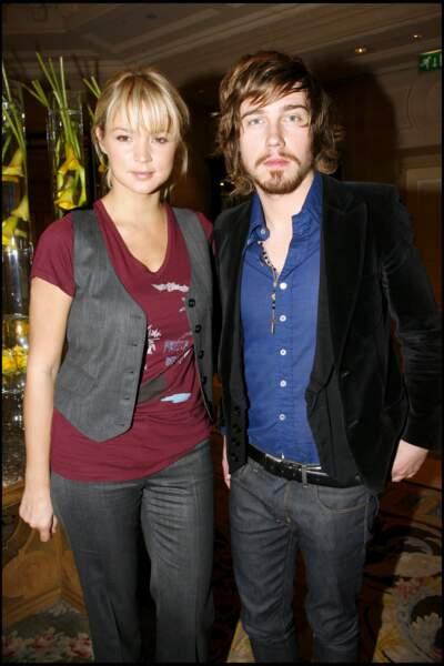 Virginie Efira et Julien Doré, en novembre 2007.