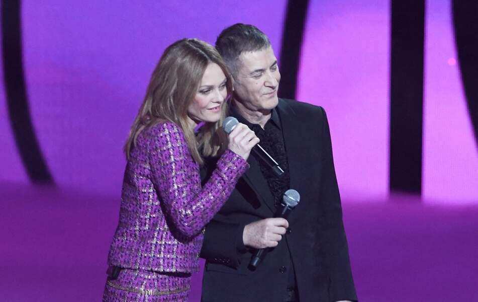 Vanessa Paradis et Étienne Daho aux Victoires de la Musique 2021