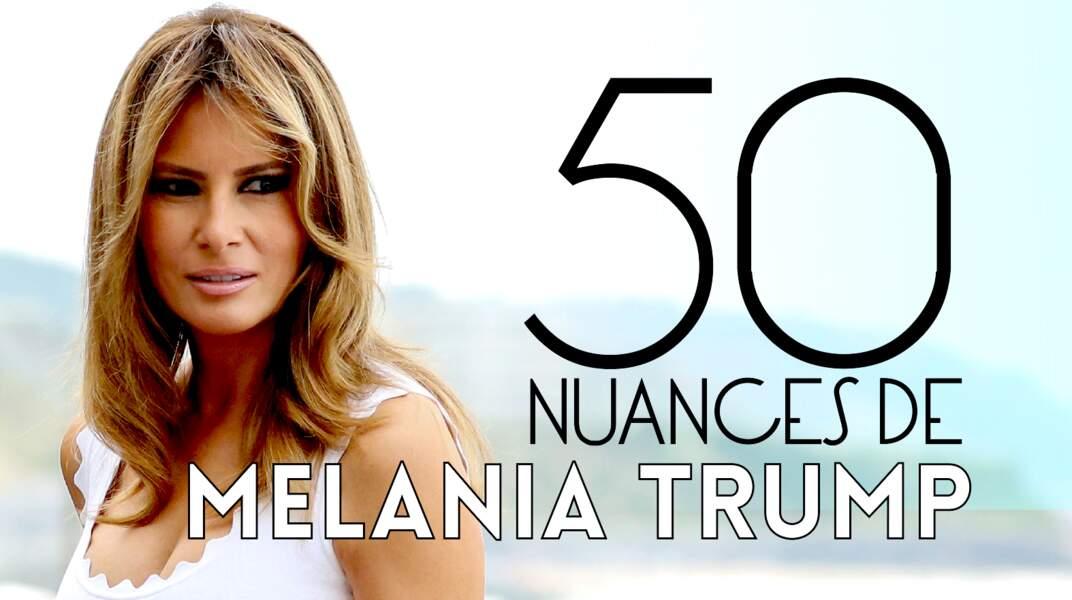 50 petites histoires sur Melania Trump