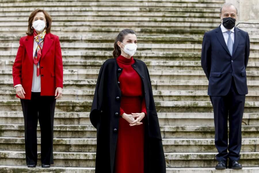 Pour Letizia d'Espagne, ancienne journaliste, Concepción Arenal est une figure féministe importante.