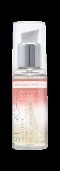 Sérum self tan purity vitamins, St.Tropez, 38€