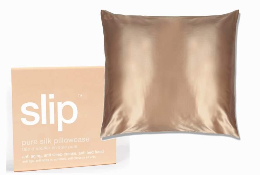 Taie en soie à fibres longues, Slip Silk chez sephora, 98€