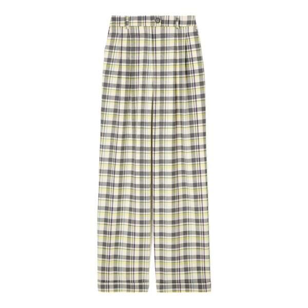 Pantalon de costume à carreaux DA/DA Diane Ducasse x Monoprix, 55 €