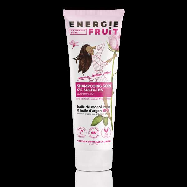 Shampoing soin sans sulfate Energie Fruit, 4,49€