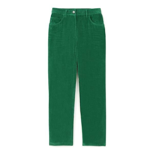 Pantalon en velours DA/DA Diane Ducasse x Monoprix, 55 €