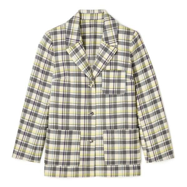 Veste de costume à carreaux DA/DA Diane Ducasse x Monoprix, 89 €