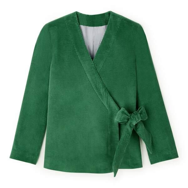 Kimono en velours DA/DA Diane Ducasse x Monoprix, 79 €
