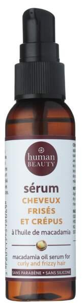 Sérum cheveux crépus & frisés Human Beauty, 3,90€