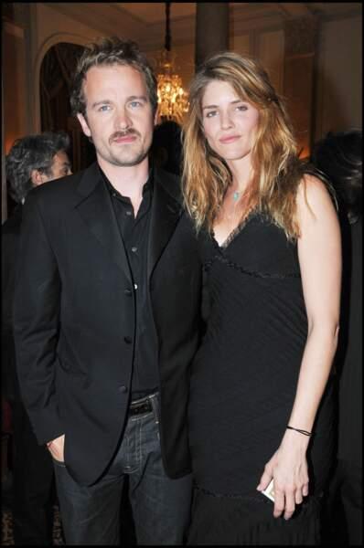 Jocelyn Quivrin et Alice Taglioni en mars 2008 à Paris