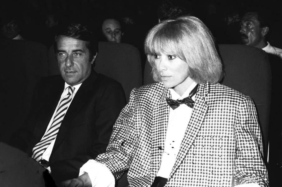 Mireille Darc et Pierre Barret en 1984