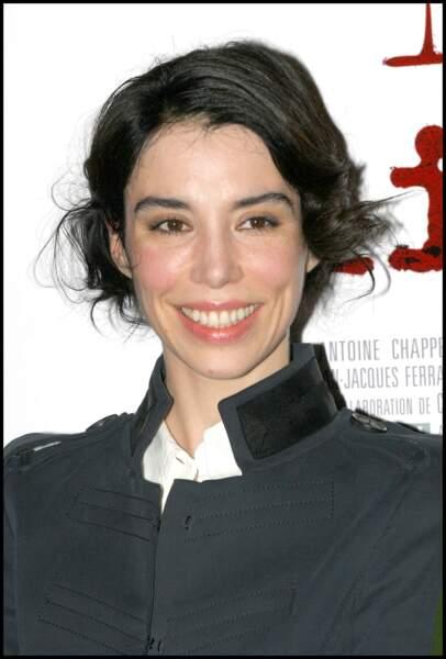 Bérangère Allaux, ex-compagne de Jalil Lespert, lors d'un photocall en 2005.