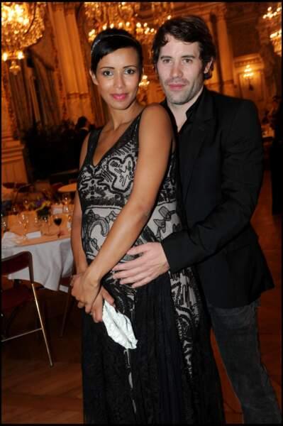 Sonia Rolland et Jalil Lespert pour le 4ème gala de charité pour l'association Maisha Africa en 2010.