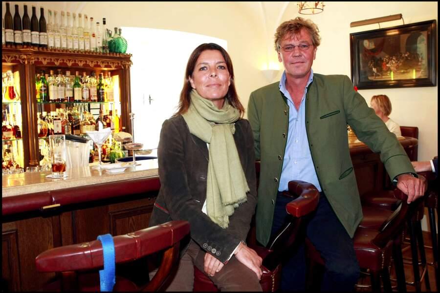 Caroline de Monaco et Ernst-August de Hanovre en 2008
