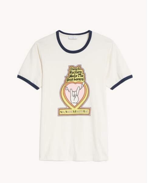 Tee-Shirt en coton, 75 €  Sandro
