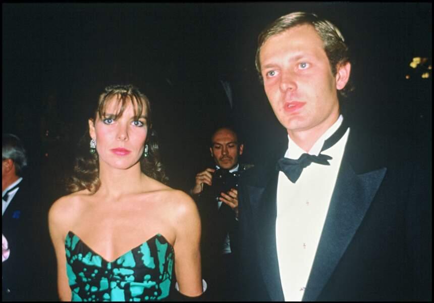 Caroline de Monaco et Stefano Casiraghi en 1984