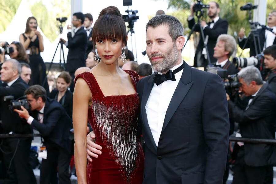 Sonia Rolland et Jalil Lespert au Festival de Cannes en 2016.