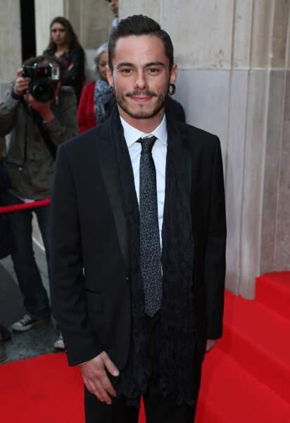 """Maximilien Philippe """"The Voice 3"""" - Soirée """"Global Gift Gala 2014 """" à l'hôtel Four Seasons George V à Paris le 12 mai 2014."""