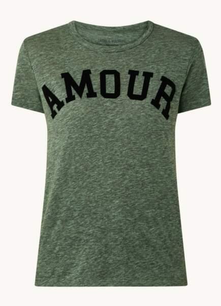 Tee-Shirt en coton, 95 € Zadig et Voltaire sur Debijenkorf.fr