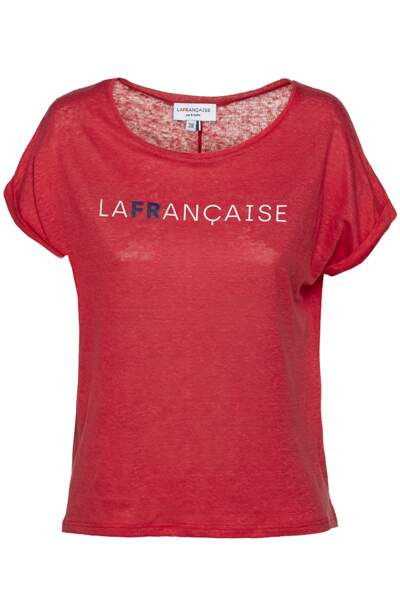 Tee-shirt en lin, 75 €, LAFRANCAISE par B. Solfin