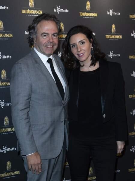Luc Chatel et Mahnaz Hatami en mars 2019