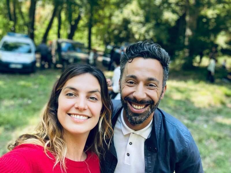 Laëtitia Milot et Badri en juin 2020