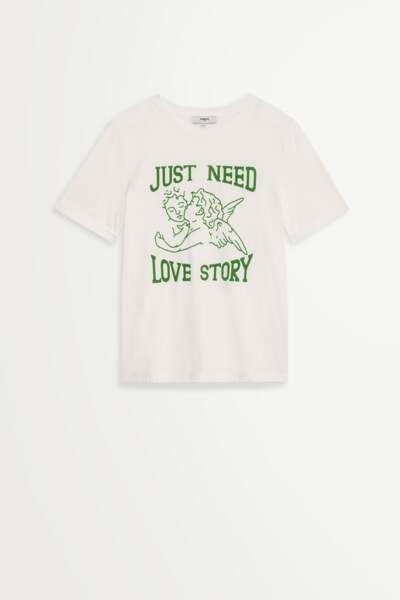 Tee-shirt en coton, 45€ Suncco