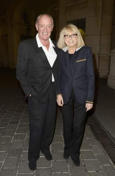 Mireille Darc et son mari Pascal Desprez en 2015