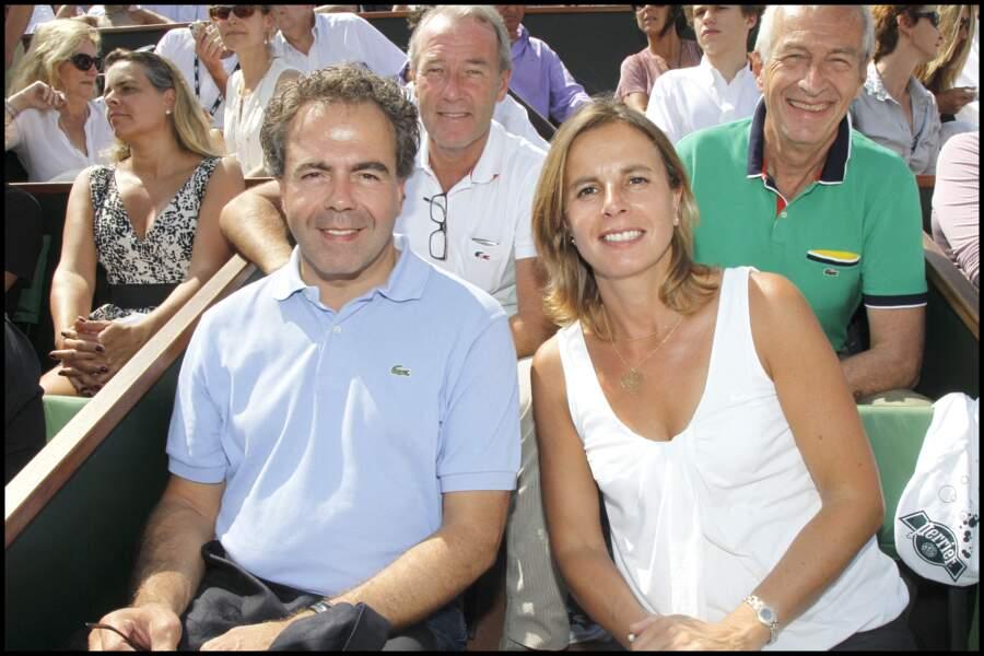 Luc Chatel et sa femme Astrid  Herrenschmidt en 2011