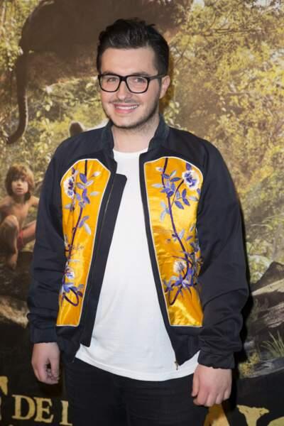 """Olympe - Avant-première du film """"Le livre de la jungle"""" au cinéma Pathé Beaugrenelle à Paris, le 11 avril 2016"""