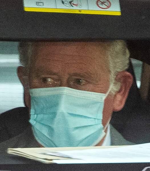 Le prince Charles a rendu visite à son père, le duc d'Édimbourg, à l'hôpital