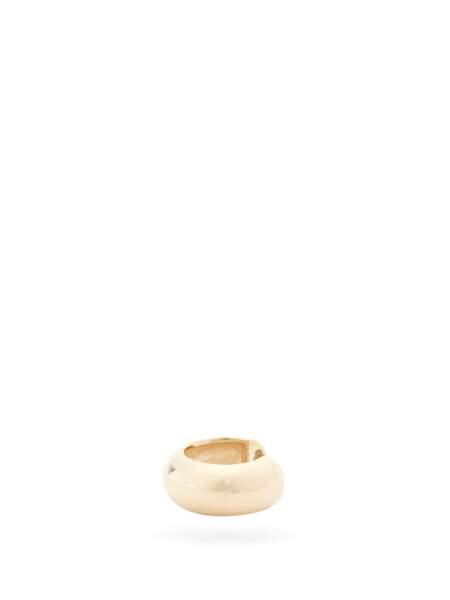 Bijou d'oreille épais en or 14 carats, 299€, Zoë Chicco sur MatchesFashion