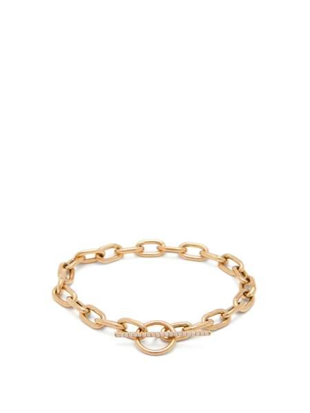 Bague en or et diamant à chaîne gourmette, 553, Zoë Chicco sur MatchesFashion